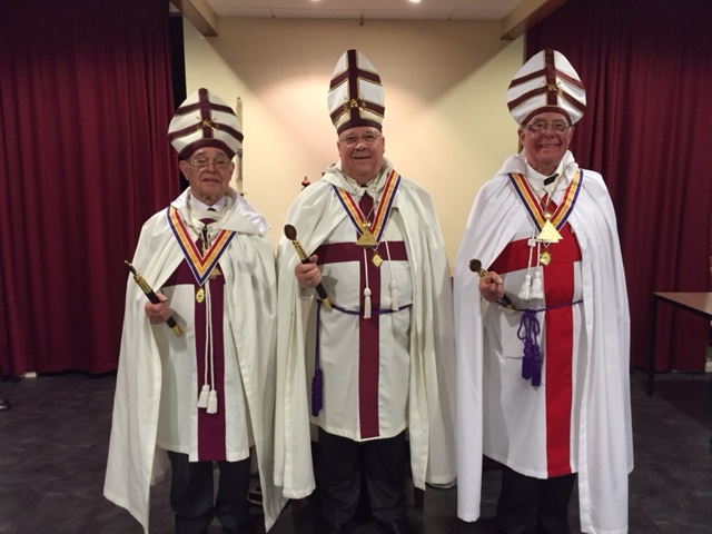 New Holders of KCPO | Knights Templar Priests